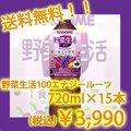 カゴメ 野菜生活100 エナジールーツ スマートPET 720ml×15本
