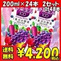 カゴメ 野菜生活100 エナジールーツ 200ml×24本 2セット