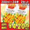 カゴメ 野菜生活100 フルーティーサラダ 200ml×24本 2セット