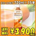 【送料無料】カゴメ 高β-カロテンにんじんジュース スマートPET 720ml×15本
