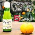 【送料無料】伊藤農園100%ピュア果汁 じゃばら果汁100ml × 5本セット 花粉症対策に!