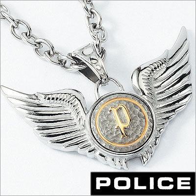 POLICE【ポリス】【アクセサリー】DOUBLE WINGS/ダブルウイング【ネックレス】【チョーカー】【ペンダント】メンズ・レディース