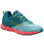 【送料無料】  montrail(モントレイル) FLUIDFLEX II Women's  6.5/23.5cm  942(SEA LEVEL×Y CURRY)  GL2157