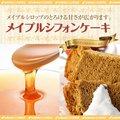 【澤井珈琲】完全手作り メイプルシフォンケーキ レギュラー(メープル/てづくり/おやつ/スイーツ)