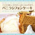 【澤井珈琲】完全手作り バニラシフォンケーキ レギュラー(ヴァニラ/てづくり/おやつ/スイーツ)