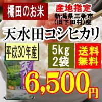 天水田コシヒカリ10kg