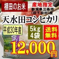 天水田コシヒカリ20kg
