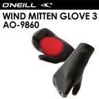 O'neill,オニール,SUP,ウィンドサーフィン,防寒対策,グローブ●WIND MITTEN GLOVE 3 AO-9860
