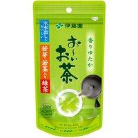 若芽若茎入り緑茶 ×10個【送料無料】