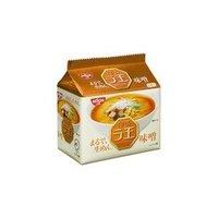 日清 ラ王 味噌 5食パック ×6個【送料無料】