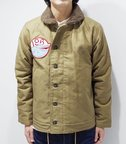 PHERROW'S フェローズ N-1 DECK JACKET『N-1 SEA DIVILS OLIVE』【アメカジ・ミリタリー】15W-N-1WW(Flight jacket)