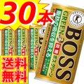 【送料無料】サントリー ボス グリーン 30本セット  BOSS 微糖 コーヒー飲料 特定保健用食品 トクホ 特保 缶コーヒー