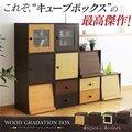 【送料無料】キューブボックス カラーボックス 見せる オープンラック ディスプレイラック 収納ラック 収納家具 本棚 シェルフ 木製 北欧