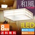 【アイリスオーヤマ】和風ペンダントライト 8畳調光 昼白色 PLC8D-J・電球色 PLC8L-J【送料無料】