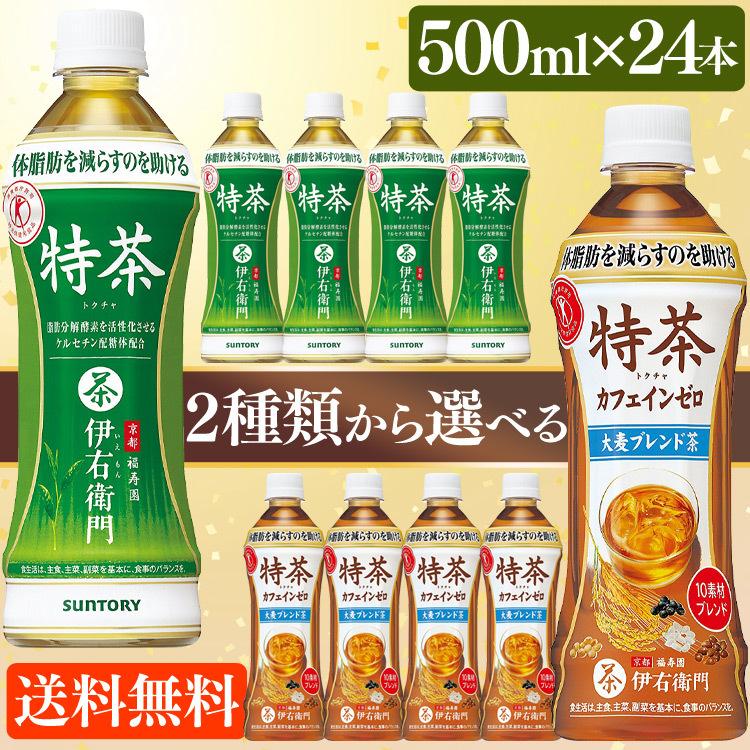 伊右衛門 特茶  500ml ×24本