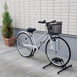 【送料無料】自転車置き場 自転車スタンド1台用 BYS-1 ブラック [アイリスオーヤマ]