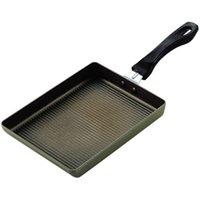 キャストウェーブ ふっ素加工厚焼き風玉子焼 [パール金属: キッチン用品 調理用具・器具 卵焼きパン][PEARL METAL]
