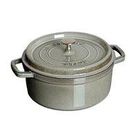 ストウブ ピコ・ココット ラウンド 10cm グレー 40500-106 [ストウブ: キッチン用品 調理用具・器具 鉄鍋][STAUB]