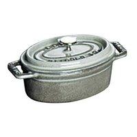 ストウブ ピコ・ココット オーバル 11cm グレー 40500-116 [ストウブ: キッチン用品 調理用具・器具 鉄鍋][STAUB]