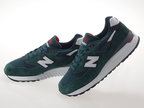 [ニューバランス] NEW BALANCE M998CHI MADE IN USA GREEN/NAVY ワイズD