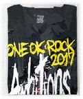 "ONE OK ROCK 2017 ""Ambitions"" JAPAN TOUR Tシャツ-A(Ambitions)(L)◆新品Ss【ゆうパケット非対応/送料680円~】【即納】"