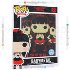 BABYMETAL Rock Poster Pop T-Shirt Tシャツ(M)◆新品Ss【ゆうパケット非対応/送料680円~】【即納】