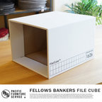 FELLOWS BANKERS BOX FILE CUBE(フェローズ バンカーズボックス FILE CUBE)(FS1626)