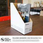 FELLOWS BANKERS BOX  208 MAGAZINE FILE(フェローズ バンカーズボックス208 MAGAZINE FILE)(FS208)