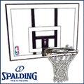 バスケットゴール 屋外用 SPALDING スポルティング NBAコンボ 79484CN バスケ バスケット マウンティングブラケット別売り(代引不可)【送料無料】