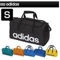 adidas(アディダス) ボストンバッグ リニアチームバッグ S ダッフルバッグ ショルダーバッグ スポーツバッグ ジム 部活