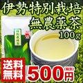 伊勢特別栽培無農薬茶100gメール便送料無料【3本までのご注文は他商品同梱不可】
