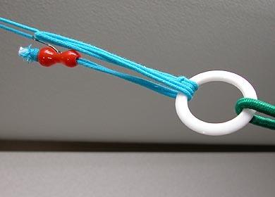 蚊帳 吊り手 6本組 カヤを吊るす紐〔10D53-TURITE6〕