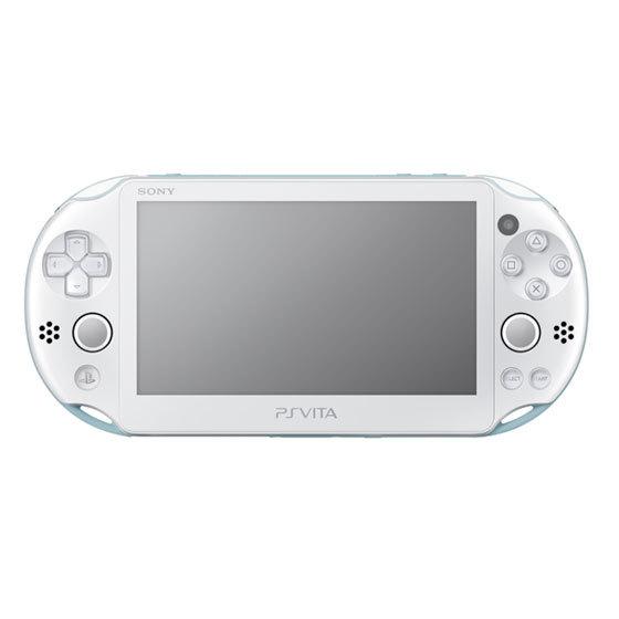【中古】【ゲーム】PSVita/PlayStationVita本体ライトブルー/ホワイトWiFi(2000)