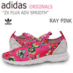 【送料無料】adidas Originals ZX Flux ADV Smooth / Pink 【アディダス】【花柄】【S78960】