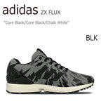 【送料無料】adidas ZX FLUX Core Black/Core Black/Chalk White 【アディダス】【independent】【S78369】