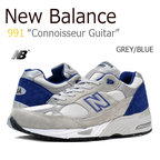 【送料無料】New Balance 991/Connoisseur Guitar/BLUE/GREY【ニューバランス】【M991CBL】