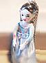 Natacha Plano (ナターシャ・プラノの陶器の人形ネックレス)ドールネックレス