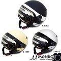 今だけ★送料無料!バーキン モンロー(BARKIN MONROE) レディースサイズ シールド付きジェットヘルメット