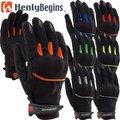 HenlyBegins プロテクターメッシュグローブ HBG-005