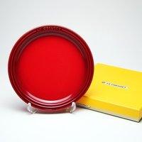 レビューで次回2000円オフ ル・クルーゼ (Le Creuset)  ラウンドプレート・LC 19cm チェリーレッド 生活用品・インテリア・雑貨 キッチン・食器 食器