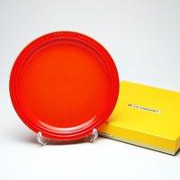 レビューで次回2000円オフ ル・クルーゼ (Le Creuset)  ラウンドプレート・LC 19cm オレンジ 生活用品・インテリア・雑貨 キッチン・食器 食器