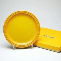 レビューで次回2000円オフ ル・クルーゼ (Le Creuset)  ラウンドプレート・LC 19cm ディジョンイエロー 生活用品・インテリア・雑貨 キッチン・食器 食器