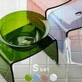 アクリルバス2点セット バスチェア Sサイズ&洗面器セット フェイヴァ favor【バスチェア アクリル 風呂イス 洗面器 おしゃれ】【送料無料】