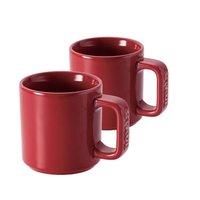 ストウブ セラミック マグカップ(2個入)チェリー 40511-114 [ストウブ: キッチン用品 食器・食卓用品 食器][STAUB]