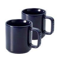 ストウブ セラミック マグカップ(2個入)ブルー 40511-115 [ストウブ: キッチン用品 食器・食卓用品 食器][STAUB]