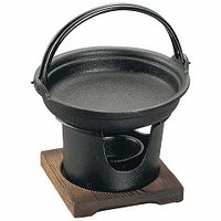 鉄 すきやきコンロセット [アサヒ: キッチン用品 調理用具・器具 すき焼き鍋][ASAHI]