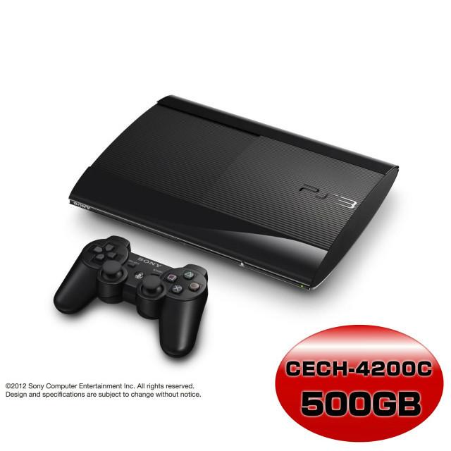 【中古即納】[本体][PS3]プレイステーション3 HDD500GB チャコール・ブラック(CECH-4200C)(20130901)