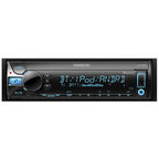 【ケンウッド(KENWOOD)】CD/USB/iPod/Bluetoothレシーバー MP3/WMA/AAC/WAV/FLAC対応 U410BT