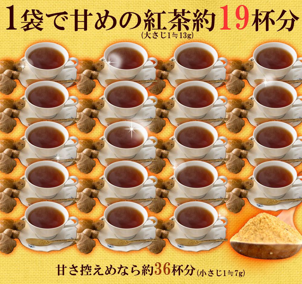 甘い紅茶約19杯分