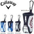 キャロウェイ Callaway スポーツ ボールケース 17 JM ◆ ゴルフ用品 通販 Sports GB Motif Ball Case SS 17 JM ゴルフ 黒 収納 ボール ボール入れ ボールポーチ ポーチ モチーフ ゴルフバッグデザイン 白 ホワイト
